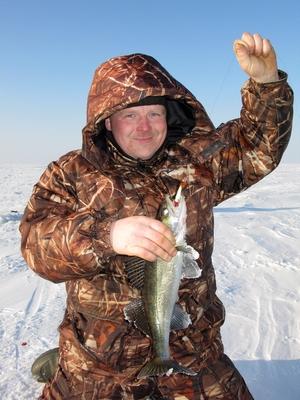 Ловля судака на балансир зимой, На Рыбинке с балансиром, Зимняя рыбалка в Ярославской области